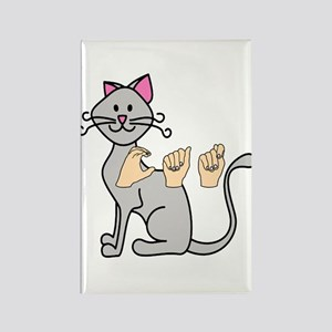 Kids and Gifts, ASL Rectangle Magnet