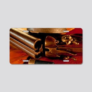 Shooting Clays Aluminum License Plate