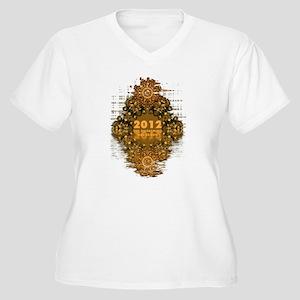 AWAKENING 2012 Women's Plus Size V-Neck T-Shirt