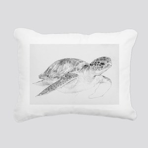 Honu Rectangular Canvas Pillow