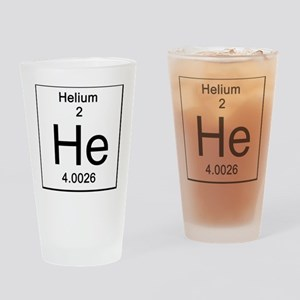 2. Helium Drinking Glass