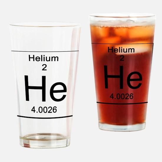 2. Helium Drinking Glass