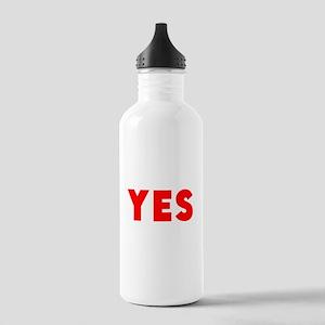 Yes Water Bottle
