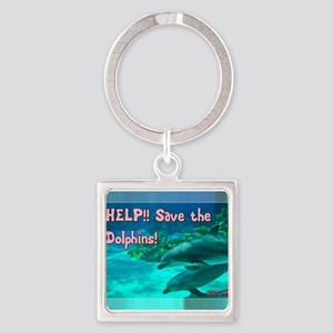 Save the Dolphins! Keychains