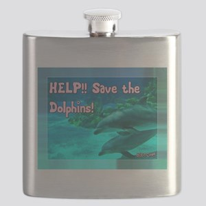 Save the Dolphins! Flask