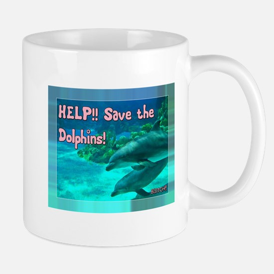 Save the Dolphins! Mugs