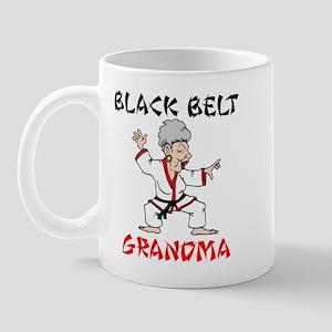 Black Belt Grandma Mug