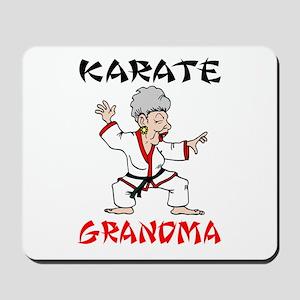 Karate Grandma Mousepad