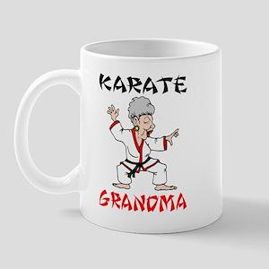 Karate Grandma Mug