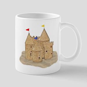 Imaginary Beach Sandcastle Mugs