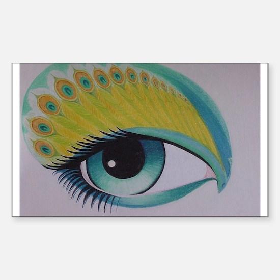 Peacock Eye Decal