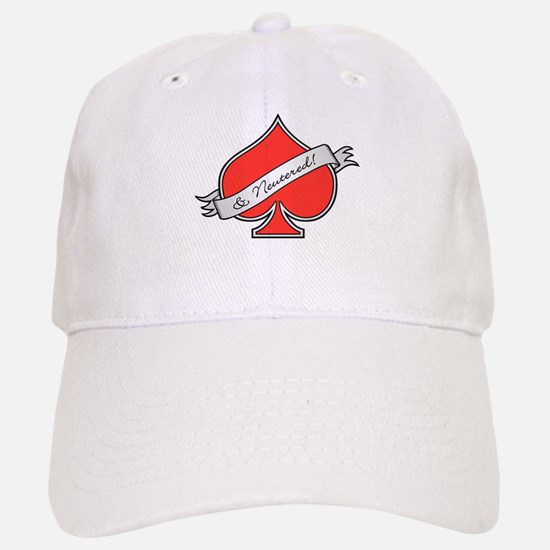 Spade & Neutered (red) Baseball Baseball Cap