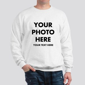Customize Photo And Text Sweatshirt