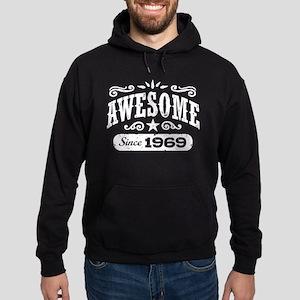 Awesome Since 1969 Hoodie (dark)