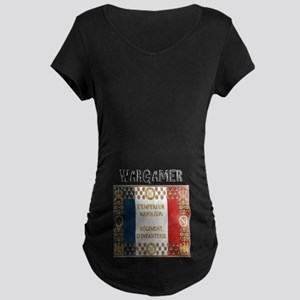 Napoleonic French Maternity Dark T-Shirt