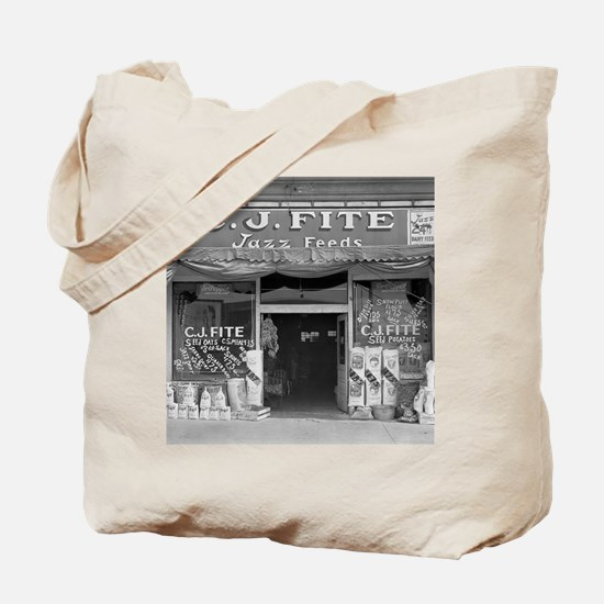 Small Town Feed Store, 1936 Tote Bag