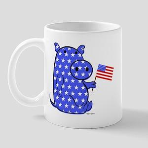 PATRIOTIC PIGGY Mug