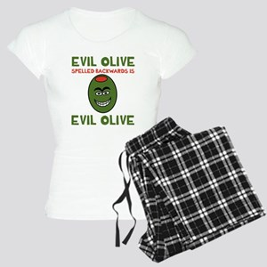 Evil Olive Palindrome Women's Light Pajamas