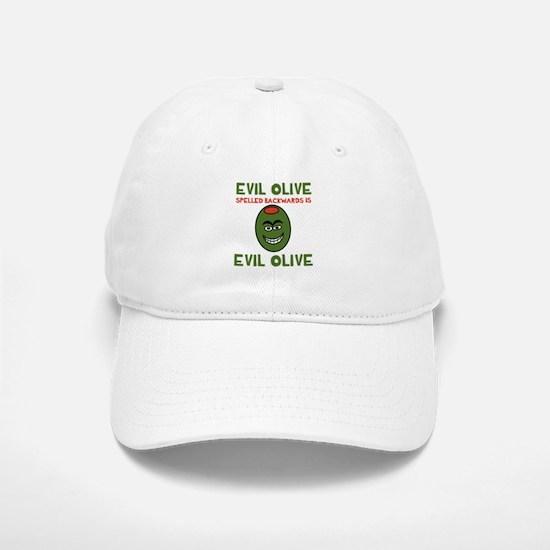Evil Olive Palindrome Baseball Baseball Cap