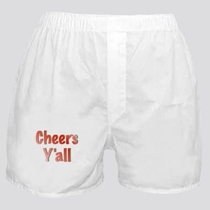 Cheers Y'all Boxer Shorts
