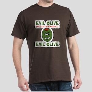 Evil Olive Palindrome Dark T-Shirt