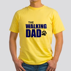The Walking Dad Yellow T-Shirt