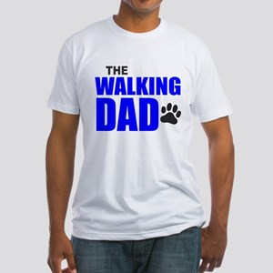 The Walking Dad Fitted T-Shirt