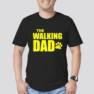 The Walking Dad Men's Fitted T-Shirt (dark)