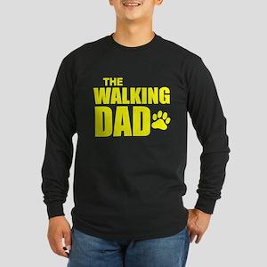 The Walking Dad Long Sleeve Dark T-Shirt