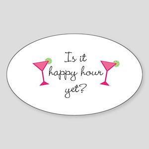 Happy Hour Yet? Sticker
