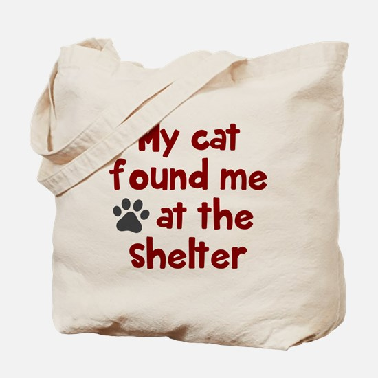 My cat shelter Tote Bag