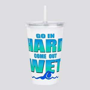 Go In Hard Acrylic Double-wall Tumbler