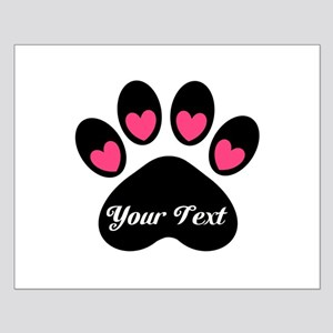 Personalizable Paw Print Posters