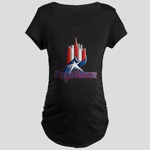 NuyoRican Maternity Dark T-Shirt