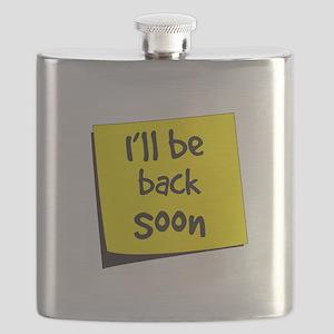 I'll be back soon Flask