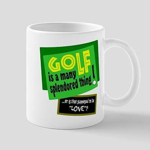 Golf-A Splendored Thing Mugs