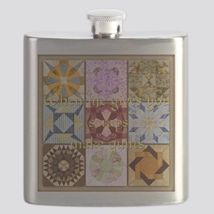 Harvest Moons Quilts Flask