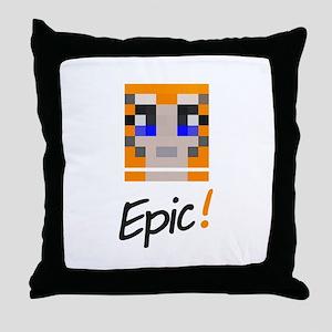 Epic! Throw Pillow