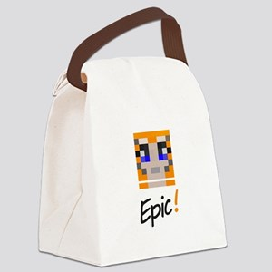 Epic! Canvas Lunch Bag