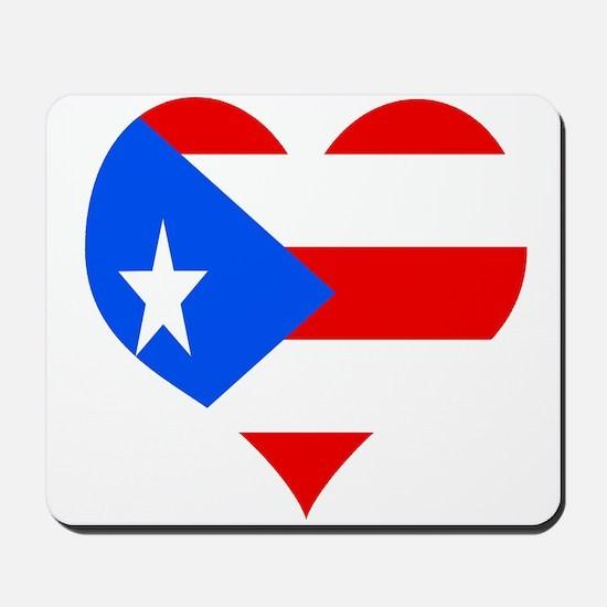 Love 4 Puerto Rico Mousepad