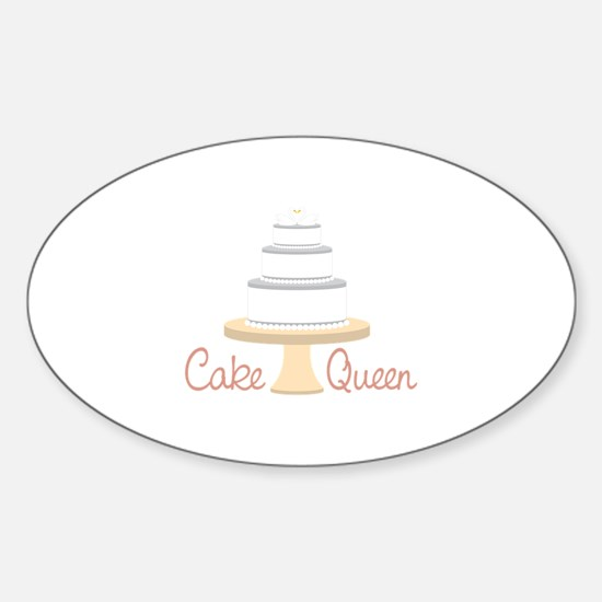 Cake Queen Decal