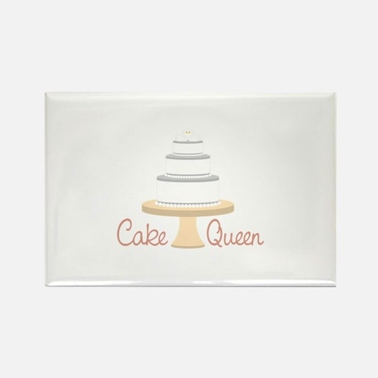Cake Queen Magnets