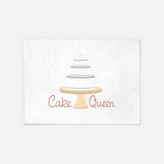 Cake Queen 5'x7'Area Rug