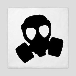 Gas mask Queen Duvet
