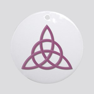 Blessed Be Rose Ornament (Round)