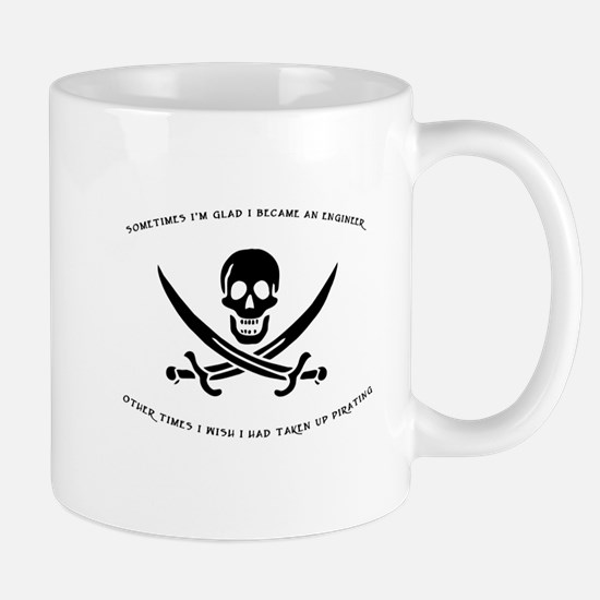 Engineering Pirate Mug