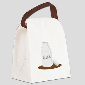 Farm Milk Canvas Lunch Bag