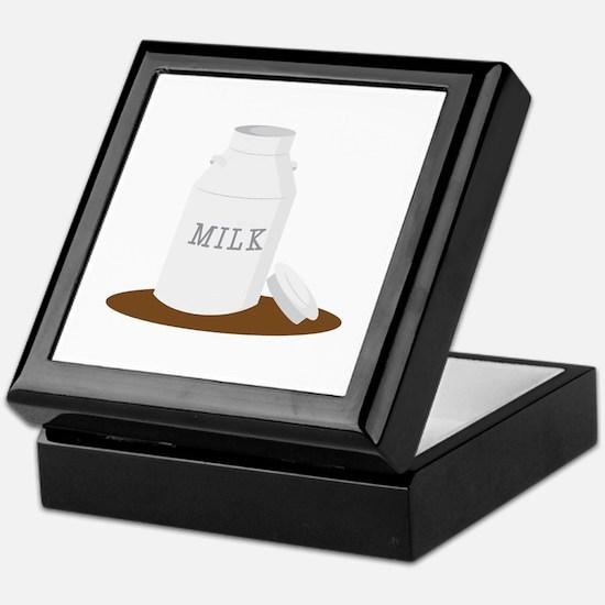 Farm Milk Keepsake Box