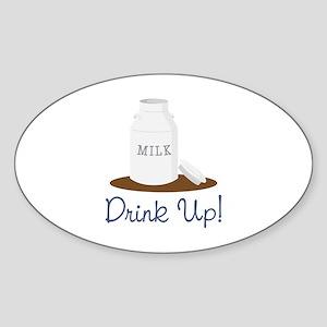 Drink Up Sticker