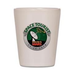 Space Tourist Shot Glass